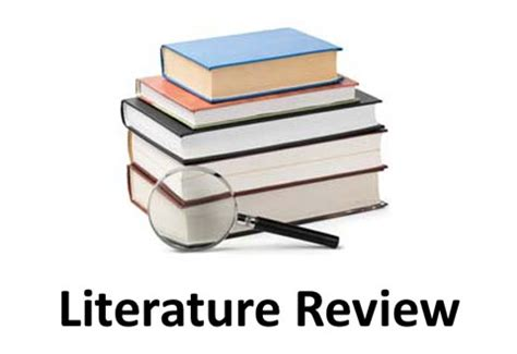 Literature Review Template For Word - FPPT