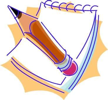 Review of literature clip art